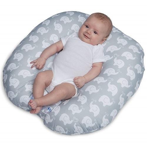 Baby On Boppy Newborn Lounger